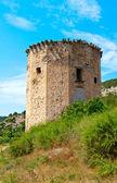 Ruinerna av gamla torn — Stockfoto