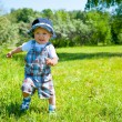 Stock Photo: Toddler in a park