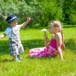 Children playing — Stock Photo