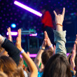 Crowd of fans — Stock Photo #11378247