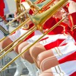 Stock Photo: Girl Brass Band
