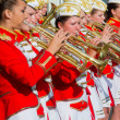 Stock Photo: Female Brass Band performing