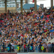 Crowd on the city stadium — Stock Photo