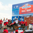 Silk Way Rally start — Zdjęcie stockowe