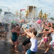 Water Battle flash mob — Stock Photo