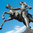 Saint-Petersburg sculpture - Stockfoto