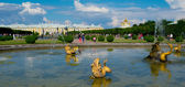 View of the grand palace in Peterhof — Stock Photo