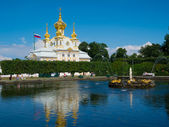 Church in Peterhof — Stock Photo