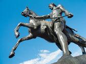 Saint-Petersburg sculpture — Stock Photo