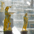 Stock Photo: Grand Cascade Fountains at Peterhof Palace