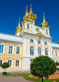 Church in Peterhof — 图库照片