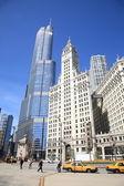 Escena de la calle chicago — Foto de Stock