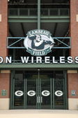 Lambeau Field - Green Bay Packers — Stock Photo