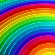 Colorful rainbow color background — Stock Photo