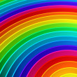 Colorful rainbow color background - Stock Photo