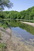 Grand River Reflection — Stock Photo