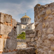 Ruins of ancient Greek colony Khersones, Sevastopol — Stock Photo #11978664