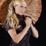 Beautiful model asian style — Stock Photo