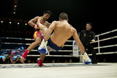 Muay Thai Championship fight — Stock Photo