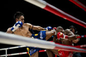 Muay Thai Championship fight — Foto Stock