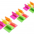 post-it anteckningsblock — Stockfoto