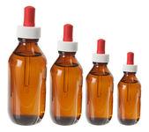 Lahve masážní oleje — Stock fotografie