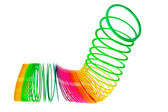 Coil Spring Toy — Stock Photo