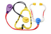 Toy Stethoscopes — Stock Photo