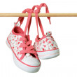 Stock Photo: Canvas Shoes