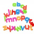 Stock Photo: Plastic Alphabets
