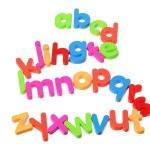 Plastic Alphabets — Stock Photo #11733545