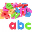 Plastic Alphabets — Stock Photo #11733548