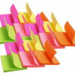 blocchetti post-it — Foto Stock