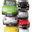 Stacks of Car Models — Stock Photo #11991034