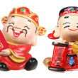 God of Prosperity Figurines — Stock Photo #12101058