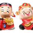 Stock Photo: God of Prosperity Figurines