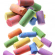 Color Chalks — Stockfoto