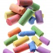 Stock Photo: Color Chalks
