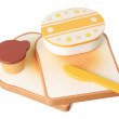 Stock fotografie: Wooden Toy Breakfast Set