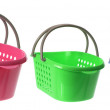 Plastic Baskets — 图库照片