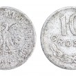 Old 10 Groszy Coin of Poland of 1968 — Stock Photo #11583608