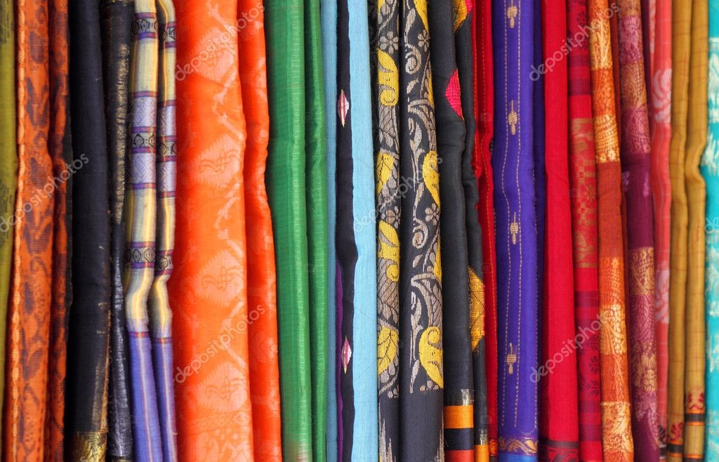 Background of Famous Saree of Dhaka — Stock Photo #11584199