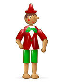 Pinocchio — Stock Vector