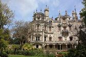 Pohled na palác monteiro Milionář v sintra, Portugalsko — Stock fotografie