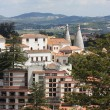 Stock Photo: View of the town Sintra, Portugal