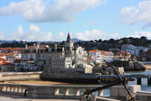 View of the coastal town Cascais, Portugal — Stock Photo