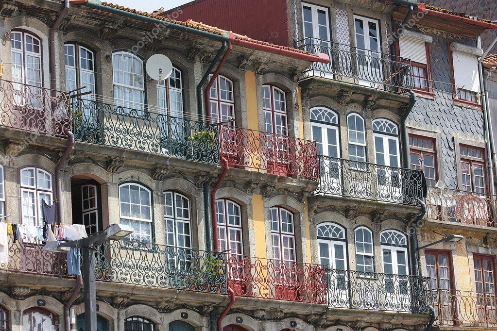 Fachadas das casas antigas no porto da cidade portugal fotografias de stock lustra 10891221 - Fachadas antiguas de casas ...