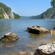 Stock Photo: Danube riverbank landscape