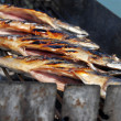 Grilled fish on barbecue — Stockfoto #11803770