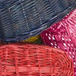 Woven straw baskets — Stock Photo #11999876